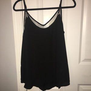 Lulu's mesh lined tank top